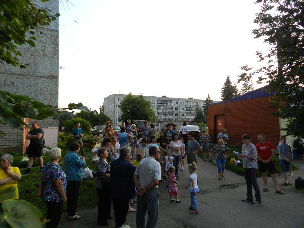 Детская площадка в рамках ППМИ