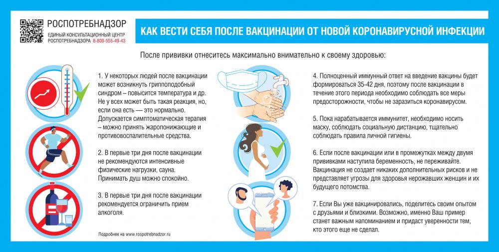 Информирование населения и популяризация прививочной кампании против гриппа и коронавирусной инфекции