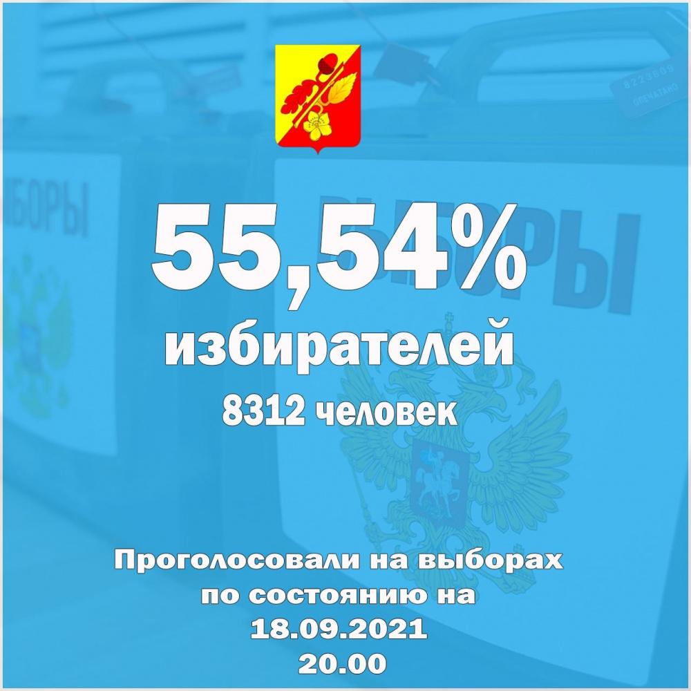 На избирательных участках Терновского района завершился второй день голосования.