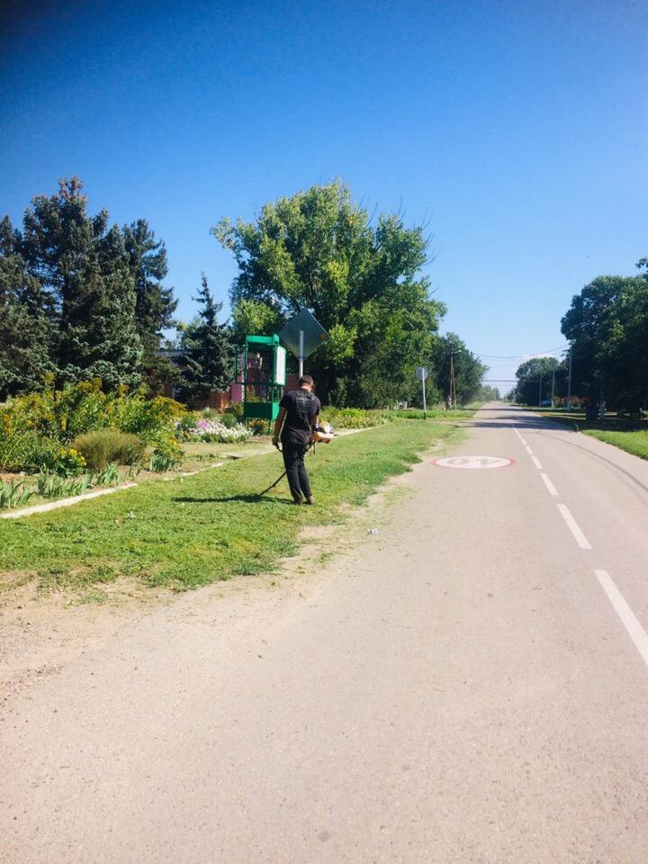 Наведение санитарного порядка на территории Кухаривского сельского поселения