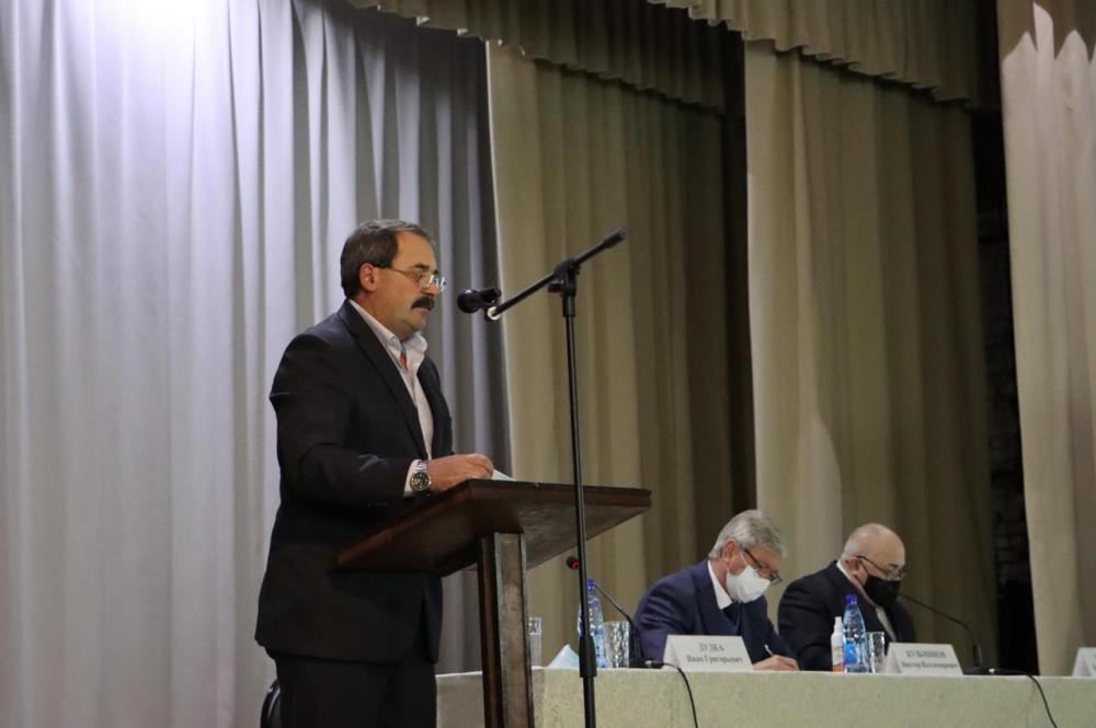 Глава поселения отчитался о деятельности администрации за 2020 год