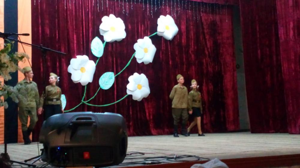 В Старотишанском СДК 8 мая состоялся праздничный концерт, посвященный ко дню 9 мая!