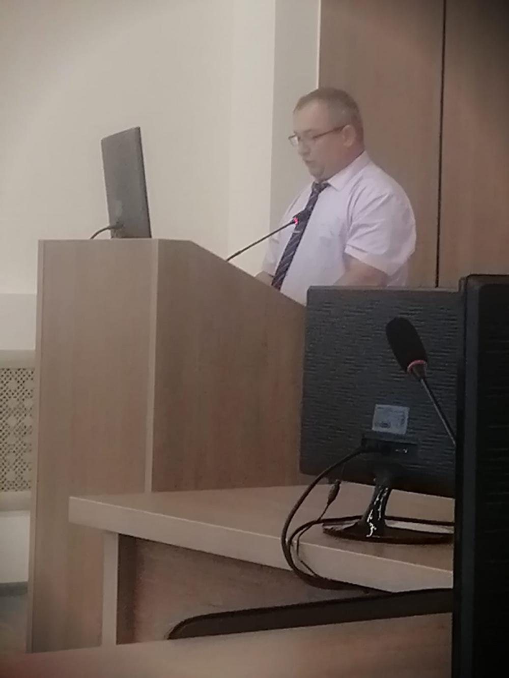 Очная защита проекта по обустройству сквера воинской славы  в рамках развития инициативного бюджетирования на территории Воронежской области.