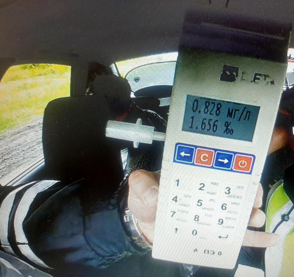 В Волжском районе водитель в состоянии алкогольного опьянения совершил наезд на дорожное ограждение