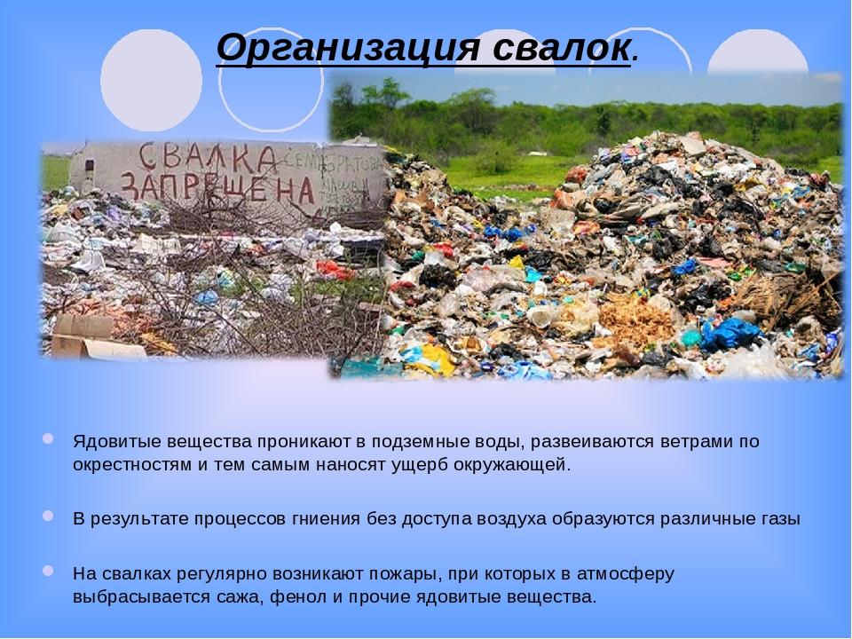 Вред мусора