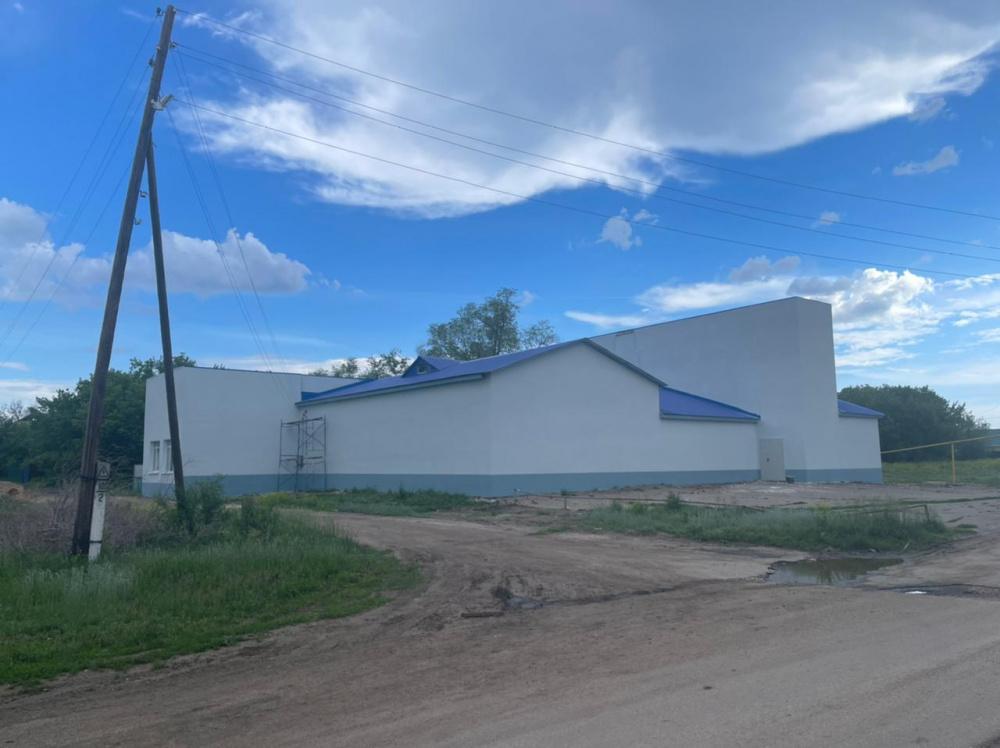 Закончен капитальный ремонт сельского дома культуры в п. Масленниково