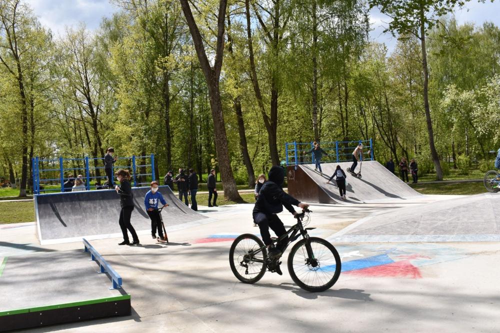 21 мая состоялось открытие первой в нашем районе скейт-площадки