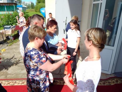 Торжественное открытие Юровского сельского Дома Культуры после капитального ремонта по программе Губернатора