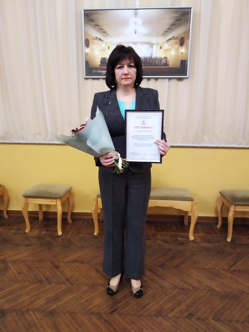 Первое место в областном конкурсе среди учреждений культуры       сельских поселений