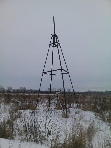 В Вологодской области проведены работы по установлению охранных зон 57-ми пунктов государственной геодезической сети