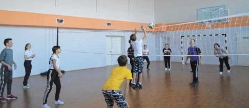 В Полянской школе впервые провели День здоровья