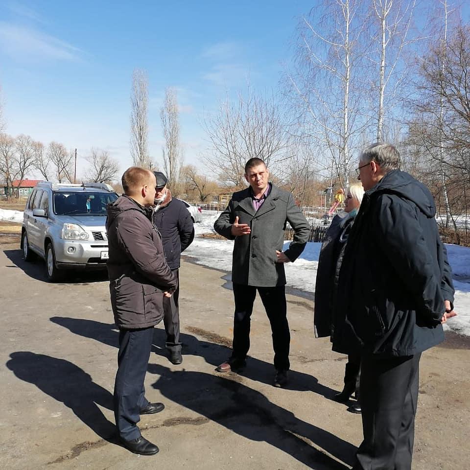 Рабочая встреча главы администрации и начальника Борисоглебского почтамта