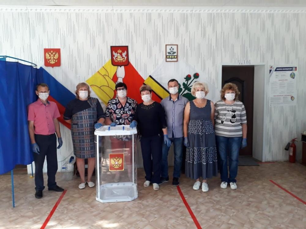 Общероссийское голосование по вопросу одобрения изменений в Конституцмю Российской Федерации (Участок 33/07)