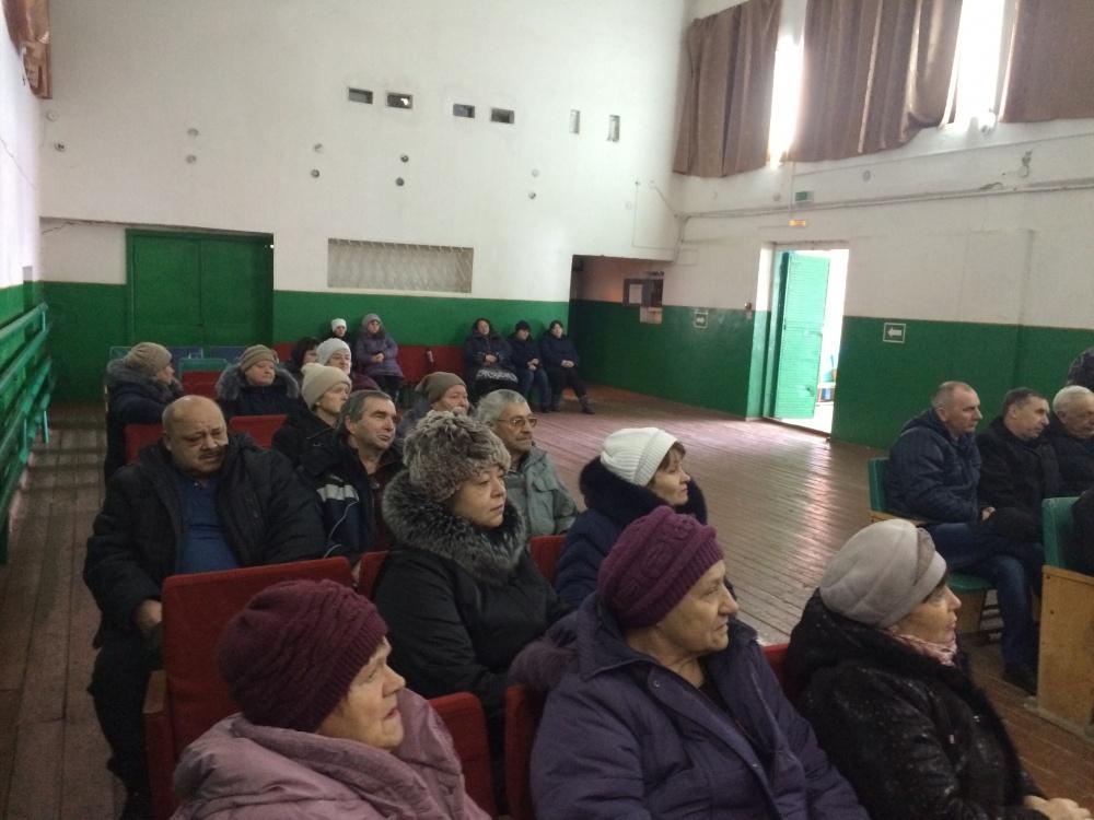 15 февраля  состоялся сход граждан