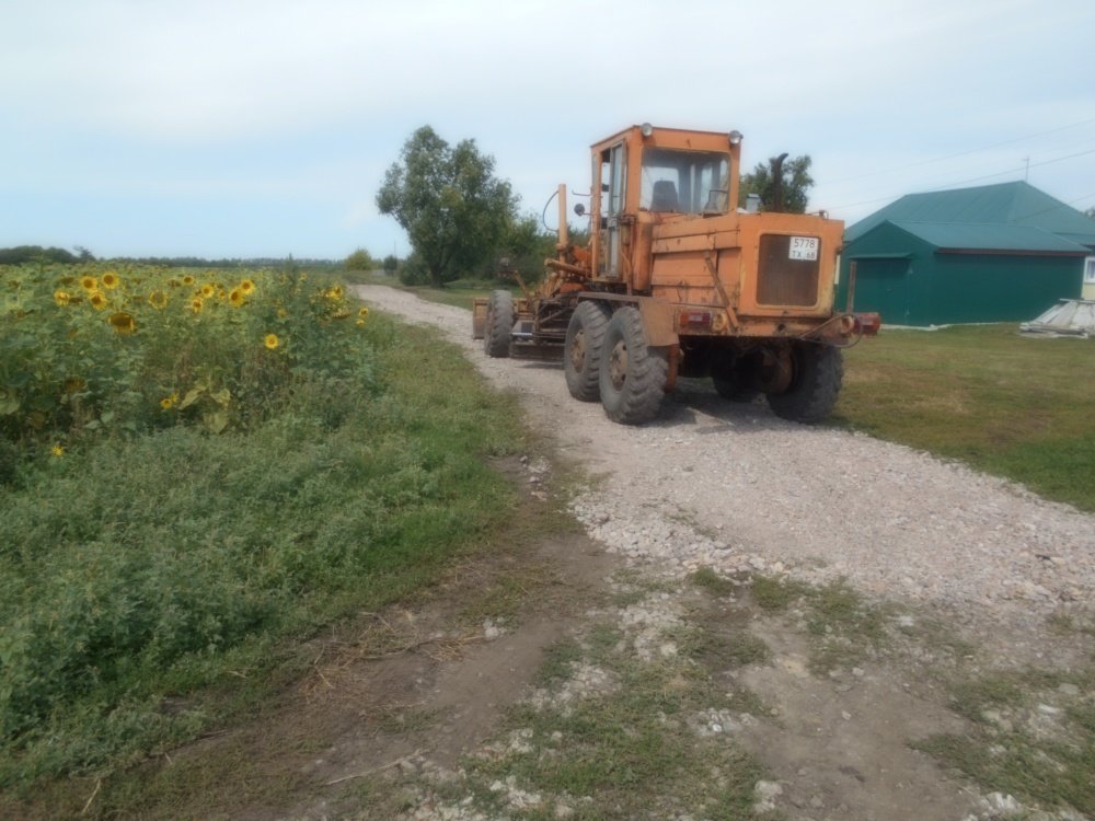 Завершились дорожные работы на улице Полевой села Вольная Вершина
