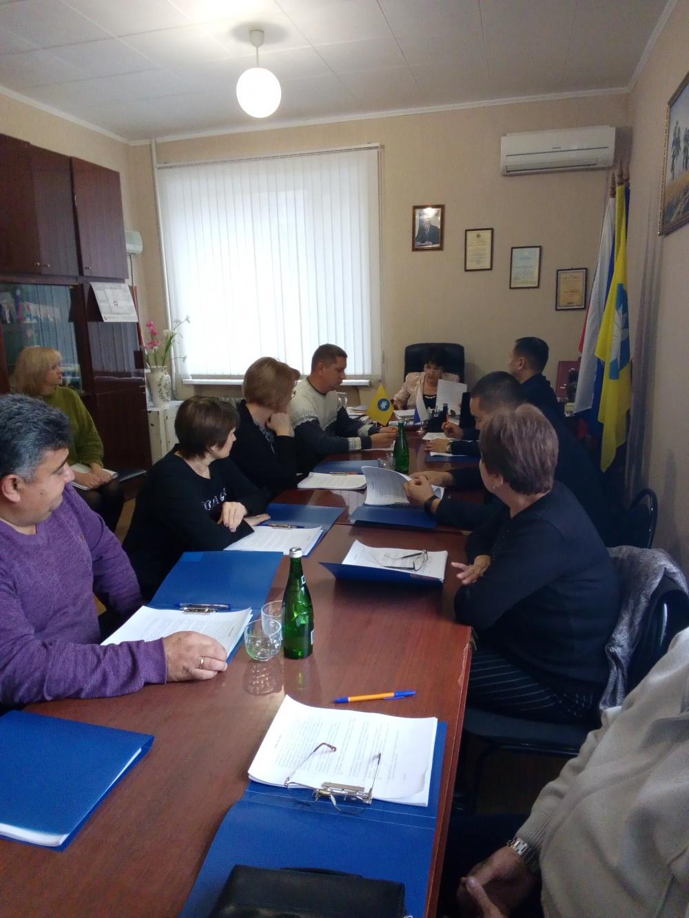 26 ноября 2019 года состоялось Собрание депутатов