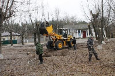 """Началась подготовка для строительства парка """"Четыре стихии"""""""