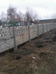 Тос « Красинское» получили грант в сумме 261536тысяч рублей, которые были потрачены на приобретение забора для ограждения кладбища в с. Почепское.
