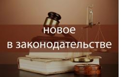 Изменения в законодательстве, вступившие в силу с 1 мая 2021 года