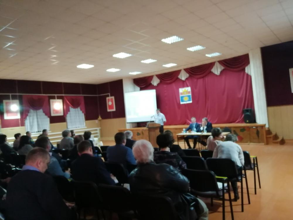 Выездное рабочее совещание администрации Урюпинского муниципального района