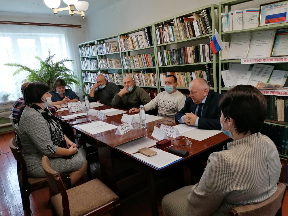 28.09.2021 г. состоялось организационное заседание депутатов нового созыва 2021-2026 годов