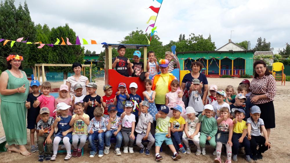 Солнечное лето в детском саду!