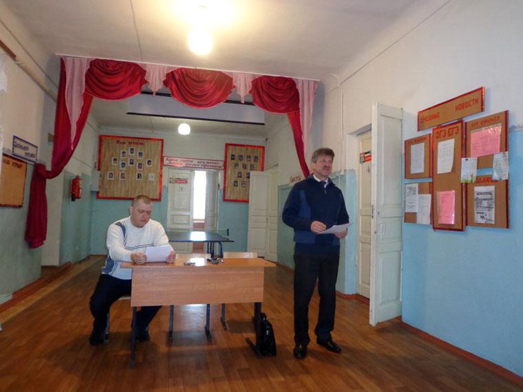 Отчет главы Латненского сельского поселения перед депутатами и населением