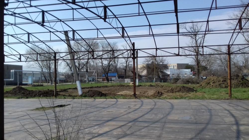 Благоустройство общественной территории парка