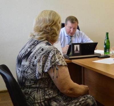 Мамаев В.В. провел прием граждан по личным вопросам в общественной приемной губернатора Воронежской области А.В. Гордеева