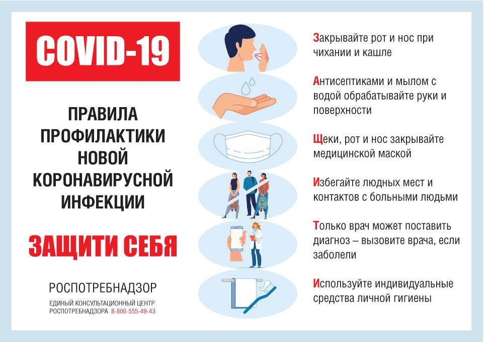 Рекомендации по профилактике новой коронавирусной инфекции для социальных работников и волонтеров