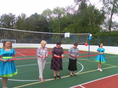 25 августа 2017 года в с. Лискинское состоялось открытие многофункциональной спортивной площадки