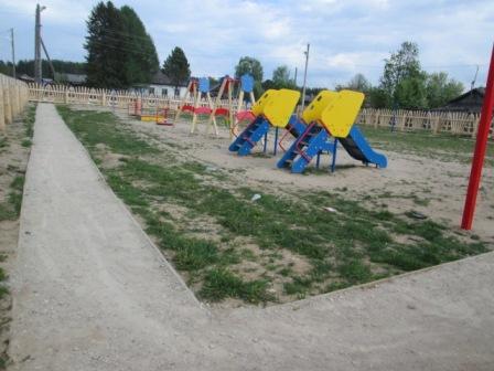 Детская площадка п. Вохтома