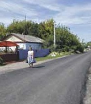 В райцентре благоустроили восемь улиц