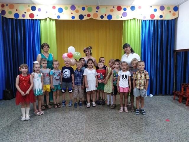 В детском саду √ 17 с. Воронцовка традиционно прошло развлечение посвящённое Дню Знаний.