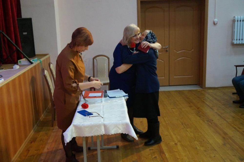 21 февраля в Дракинском доме культуры прошло вручение юбилейных медалий ветеранам, труженикам тыла и узникам концлагерей