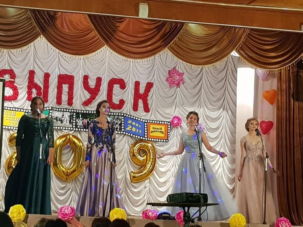 Выпускной вечер 2019 г.