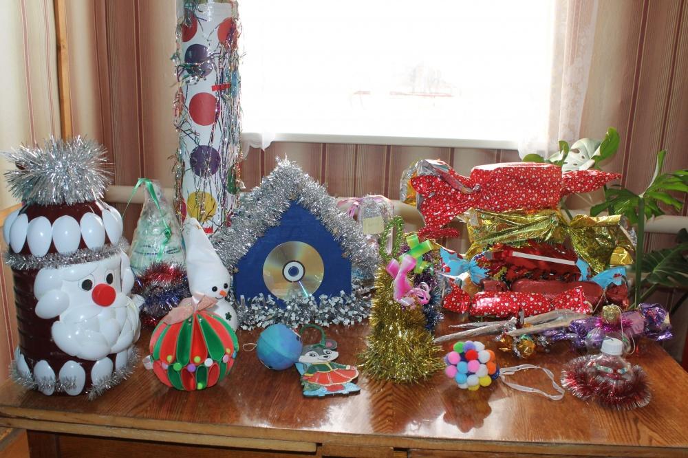Итоги конкурса «Лучшая новогодняя  ёлочная  игрушка»