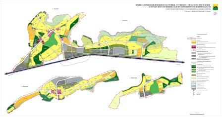 схема градостроительного зонирования населенных пунктов
