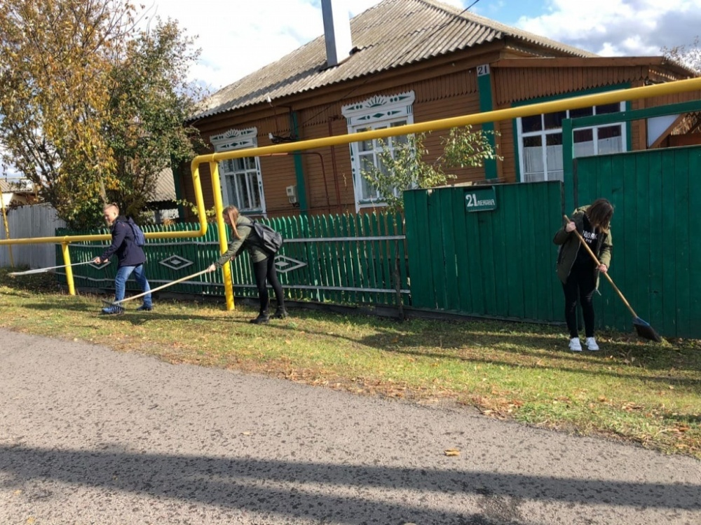 В Залуженском сельском поселении с 01 октября 2019 года стартовал месячник по благоустройству и санитарной очистки территории