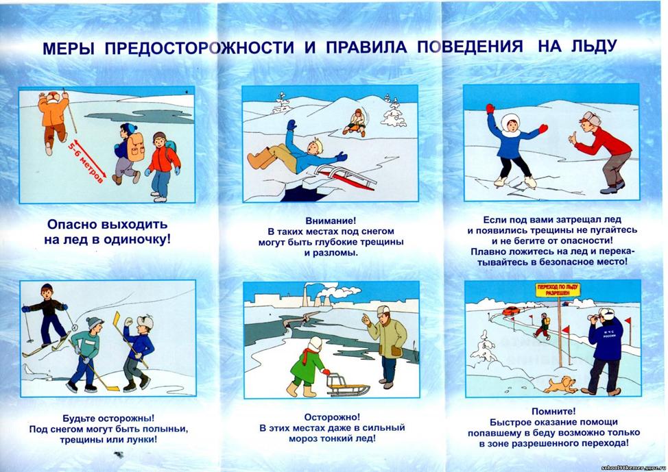 Что делать, если вы провалились в воду на льду водоема?