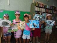 Краеведческий час в детской библиотеке.