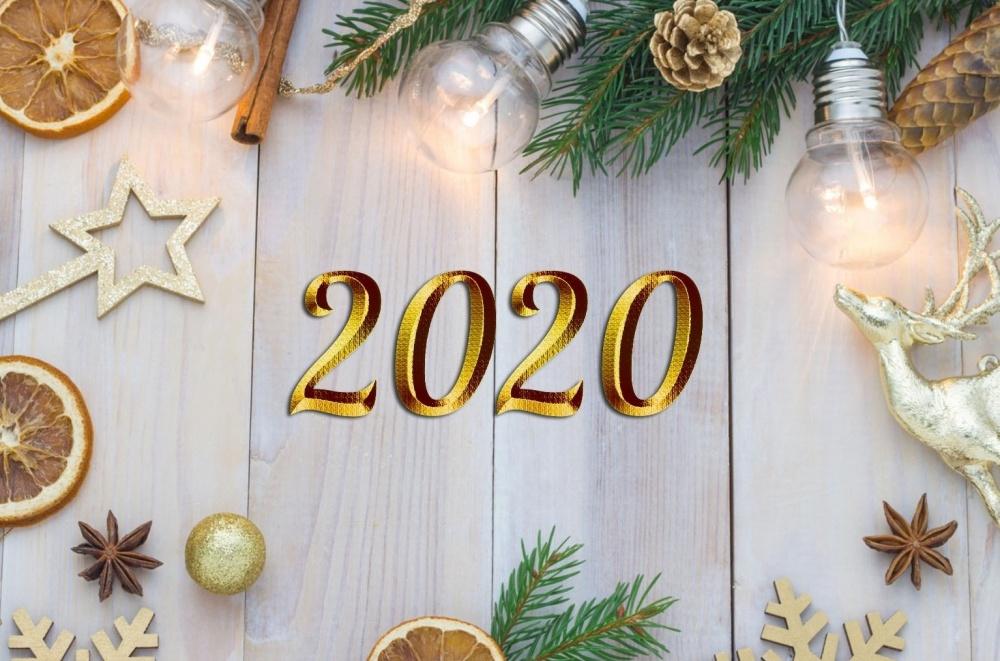Поздравление тружеников тыла и участника Великой Отечественной войны с Новым 2020 годом