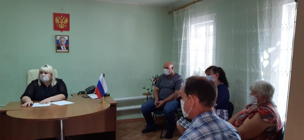 27 августа состоялась сессия Совета народных депутатов Пыховского сельского поселения