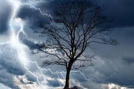 Действия при грозе и шквалистом ветре