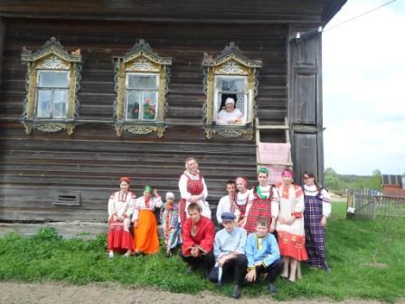 Окликание Егория Праздник в д. Савино 2014 год