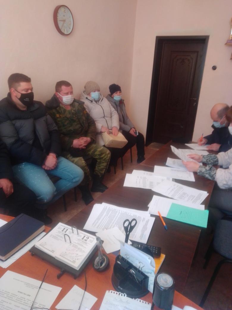 Прошло заседание Совета народных депутатов