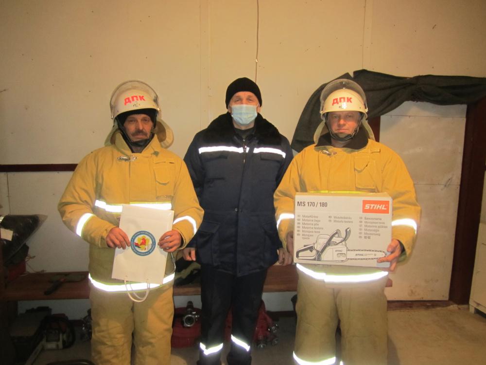 Добровольная пожарная команда п.Игмас в призёрах