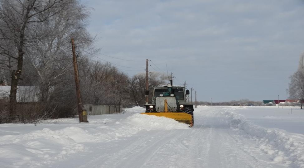 На территории Верхнемазовского сельского поселения регулярно проводится окашивание территории от сорной растительности и расчистка дорог от снега.