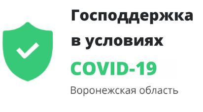Господдержка в условиях COVID-19 Воронежская область