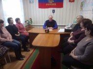 12 февраля 2019 г. в администрации сельсовета состоялось заседание Общественного совета